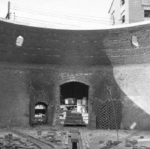 Image of Delaware Clay Company, inside a kiln                                                                                                                                                                                                                       -
