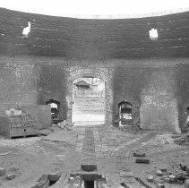 Image of Delaware Clay Company, Kiln interior                                                                                                                                                                                                                       -