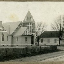 Image of Old and New Berlin Presbyterian Churches