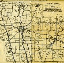Image of 1938 Delaware County Road Map