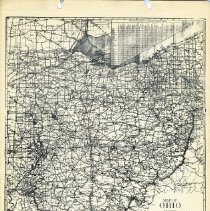 Image of 1936 Highway map of Ohio                                                                                                                                                                                                - 1937