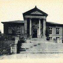 Image of Delaware Carnegie Library in 1937                                                                                                                                                                     - 1937