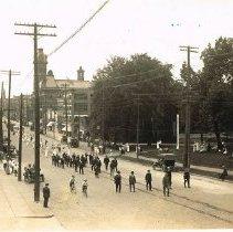 Image of Delaware Memorial Day Parade, South Sandusky Street. - 5/30/1918
