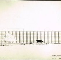 Image of Architectural Drawing of Science Center