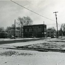 Image of View of East Central Avenue - railroad and Delaware Heating Co. - 1976