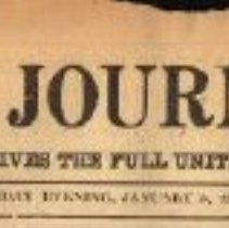 Image of Heading for newspaper article