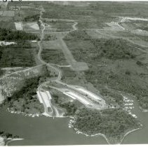 Image of Delaware Lake State Park Camping area - 6 Oct 1970