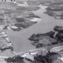 Image of Delaware Lake and Dam - 18 Jul 1971