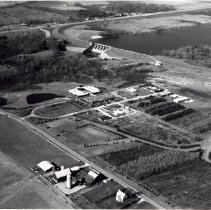 Image of USDA Nursery and Delaware Dam - 18 Nov 1976