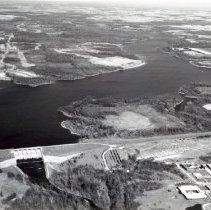 Image of Delaware Lake Reservoir and Dam - 18 Nov 1976