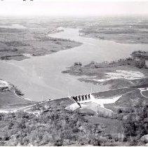 Image of Delaware State Park Lake Reservoir - 29 Apr 1957