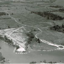Image of Boat launching area on Delaware State Park Lake   - 3 Aug 1958