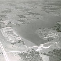 Image of Delaware State Park Lake Reservoir and Dam  - 3 Aug 1958