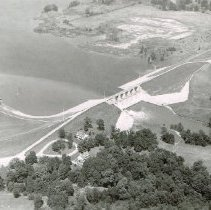 Image of Delaware State Park Lake and Reservoir Dam - 3 Aug 1958
