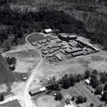 Image of Delaware Clay and Brick Company aerial view - 6 Jul 1968