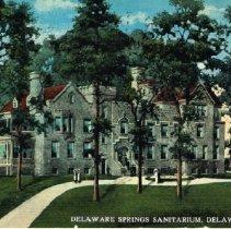 Image of Delaware Springs Sanitarium - 18 Mar 1916