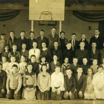Image of 6th & 7th grade - East School - Delaware, Ohio                                                                                                                                                                                                             - 7 Mar 1917