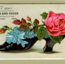 Image of C.F. Graff Boots and Shoes trade card