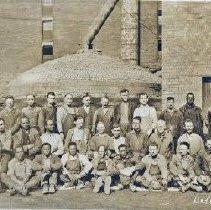 Image of Delaware Clay Company employees - Nov 1925