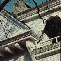 Image of A portion of a house built in the late 1880's on 264 North Franklin Street - Delaware -