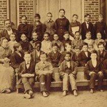 Image of South School 1880 third grade class