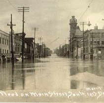 Image of Flooding of 1913 along South Sandusky Street