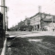 Image of Corner of Sandusky and William Streets in 1910-1919 -