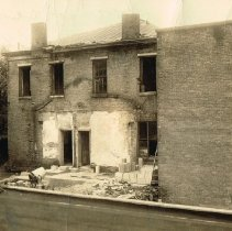 Image of 28 North Union Street rear view - 1943