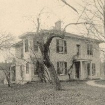 Image of Residence of A. J. Lyons, on 193 West Central Avenue in 1891 - Delaware