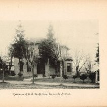 Image of Home of C F Graff on Hill Street (currently Rowland Avenue) - Delaware
