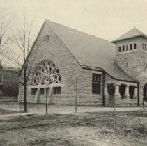 Image of Asbury Methodist church at 55 West Lincoln Avenue - Delaware