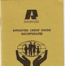 Image of Ranco Employees Credit Union booklet 1971