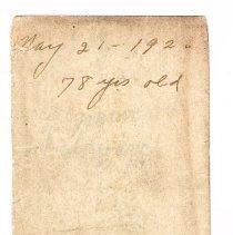 Image of Verso: Lear Reunion Souvenir photograph insert