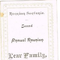 Image of Reunion Souvenir: Lear Family