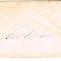Image of Envelope for wedding invitation
