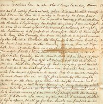 Image of Van Deman July 8 1849 letter to Henry & Sarah, 2 of 4