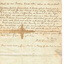Image of Van Deman July 8 1849 letter to Henry & Sarah, 3 of 4  cropped