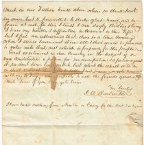 Image of Van Deman July 8 1849 letter to Henry & Sarah, 3 of 4