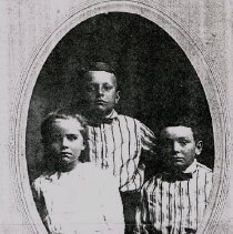 Image of Leta, Ben, and Claude Curtiss