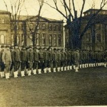 "Image of ""SATC"" Student Army Training Corps at ""OWU"" South Sandusky Street"