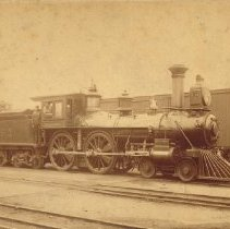 "Image of ""Jerk"", The (train engine) -"