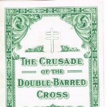 Image of $5 Christmas Seal Bond The Crusade of the Double Barred Cross