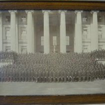 Image of 4th Ohio Volunteers Regiment at Treasury Department, Washington, DC                                                                                                                                                                                        - 1888