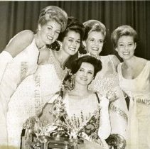 Image of  Miss America 1966 with Her Court -