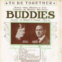Image of Buddies sheet music B. C. Hilliam
