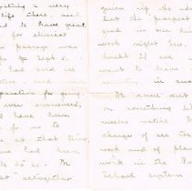 Image of Letter to Mrs. Hall from Mrs. Page page 2