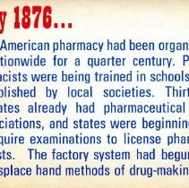 Image of Pharmacy in 1876