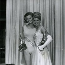 Image of 1966 Miss America Contestants Sharon Phillian and Barbara Harris  -