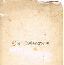 Image of Old Delaware - cover