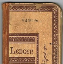 Image of CA White ledger cover
